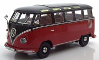 "KK Scale Volkswagen Bus T1 ""Samba""1962 Red / Black 1:18"